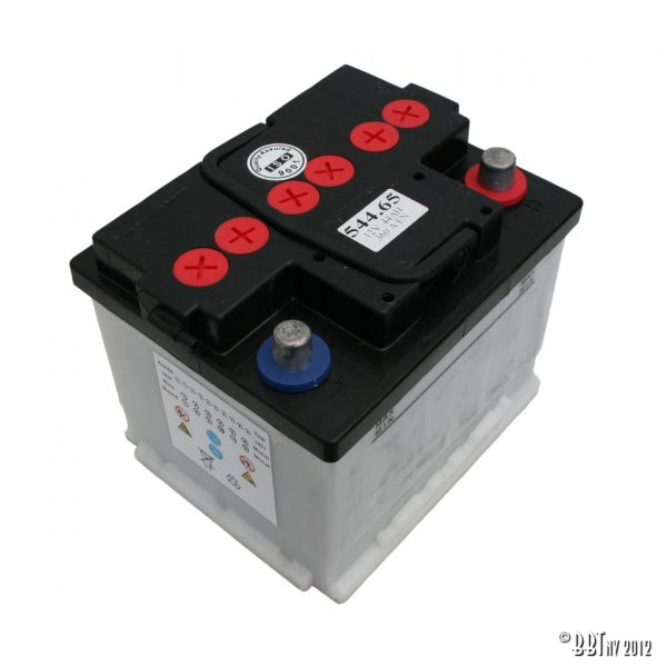 Batterier & Tillbehör 12V, 44 Ah, utan syra www.vwdelar.se