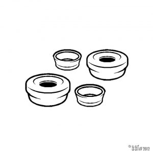Hjulcylinder ATE-ombyggd sats bromshjulcylinder fram [tag]