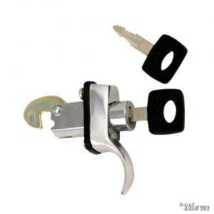 Speglar/Dörrlås Bakluckans blocklås med nycklar, säst med 3 bultar, styck [tag]