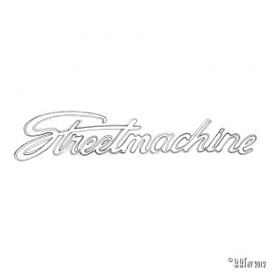 Emblem/Skyltar Streetmachine [tag]