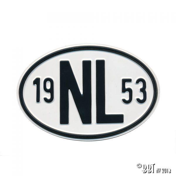 Emblem/Skyltar Skylt NL 1953 [tag]
