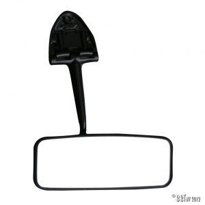 Speglar/Dörrlås Backspegel Bubbla, svart [tag]