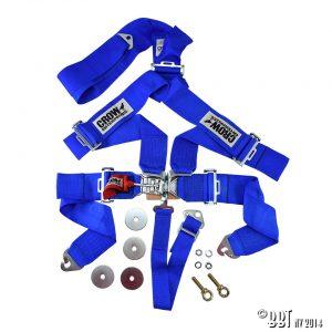 Bilbälte 5-vägs säkerhetsbälte, blå – CROW