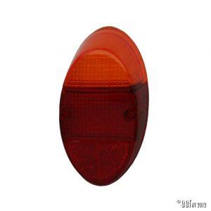 Bakljus Baklykta, orange / röd, europeisk typ, par [tag]