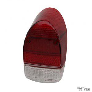 Bakljus Baklykta, Röd / röd / transparent, styck [tag]