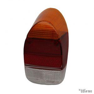 Bakljus Baklykta, europeisk, orange / röd / transparent, styck [tag]