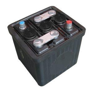 Batterier & Tillbehör Batteri 6V, 66 Ah, utan syra (L 187 x B 169 x H 191)