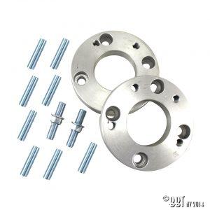 Spacers 4-håls adapters 4/130 VW > 5/130 Porsche 956 956